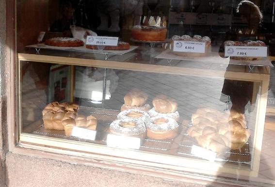Die Kuchenvielfalt in Tours
